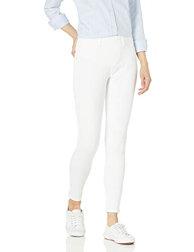 Amazon Essentials Skinny Stretch Pull-on Knit Jegging Pants, Weiß, Medium Regular