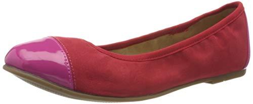 s.Oliver Damen 5-5-22118-24 Geschlossene Ballerinas, Pink (Fuxia Comb 599), 39