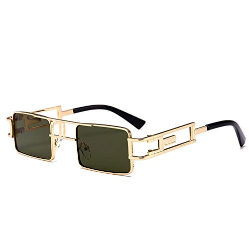 Duulo Gafas de sol de metal para mujer