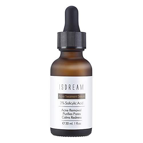 Isdream Acne Serum Anti Akne Behandlung Anti Pickel Gegen Akne Pickel Entfernen Gegen Unreine Haut 1 oz
