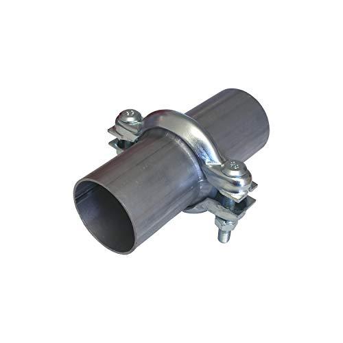 Reparación universal de tubo de brida, 60 mm, tubo de escape, brida con abrazadera, PSA