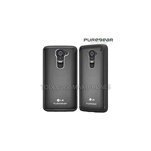 PureGear Slim Shell Case for LG G2 - Retail Packaging - Licorice Jelly