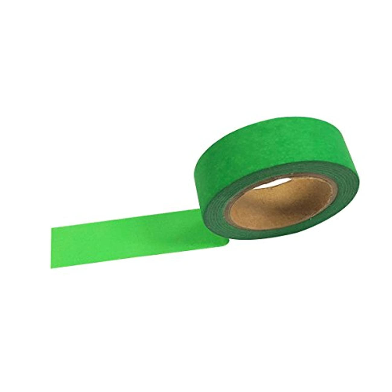 AllyDrew Washi Tapes Decorative Masking Tapes, Fluorescent Green