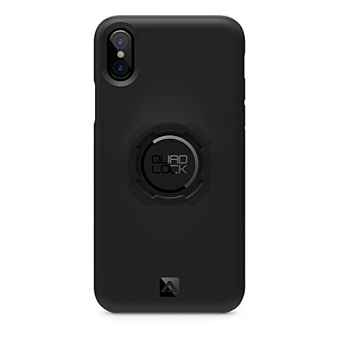 Quad Lock Custodia per iPhone, Unisex Adulto, Custodia per Cellulare, QLKC10010X, Nero, Taglia Unica