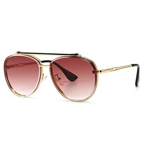 enioysun Gafas De Sol Aviador Fashion Aviation Style Gradient Gafas de Sol Gafas de Sol Hombres y Mujeres (Lenses Color : B)