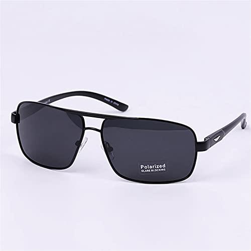 YCHH Gafas de Sol Masculino Conductor Vintage Brown Goggl Sunglass New Luxury Brand Ladies Sun Glasses Diseñador Girl Fashion Eyewear (Color : BlackGray)