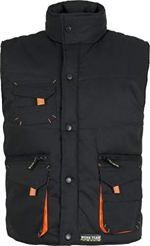 Chaleco negro Workteam WF 1680 (M, NEGRO)