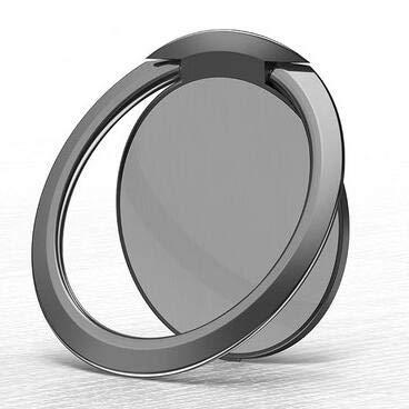Hinzonek Soporte para Anillos de Teléfono Soporte para Dedos - Agarre de Anillo de Metal para Soporte Magnético para Automóvil Compatible con Todos Los Teléfonos Inteligentes - Oro Rosa