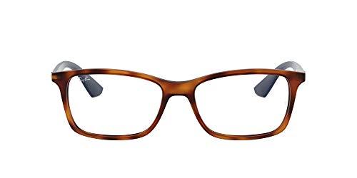 Ray-Ban 0Rx 7047 5574 54 Monturas De Gafas, Matte Light Havana, Hombre