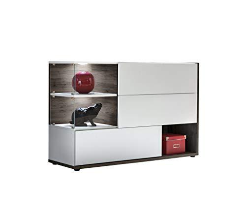 muebles bonitos Aparador Modelo Odin Color Blanco y truflowy