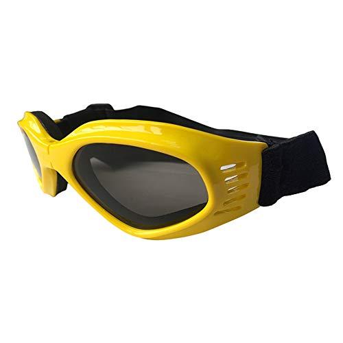 FZQ Pet Opvouwbare bril AC kunststof nylon creatief band kat skibril zonnebril accessoires multi-kleur optioneel geel