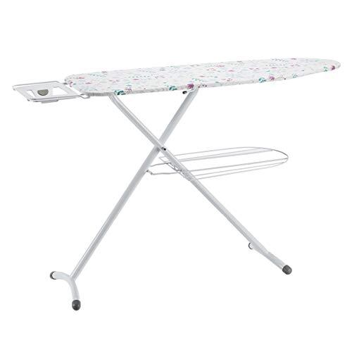 Amazon Basics Ironing Board with Shelf Tray and H-Shaped Iron Rest, Large,...