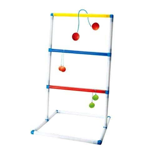 Tubayia Ladder Golf Leitergolf Spiel Wurfspiel Outdoor Spielzeug für Kinder und Erwachsene