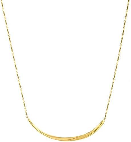 14ct Or jaune Collier 46centimetres