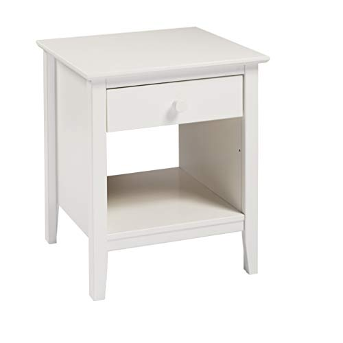 Best Prices! Bolton Furniture Simplicity Nightstand, White