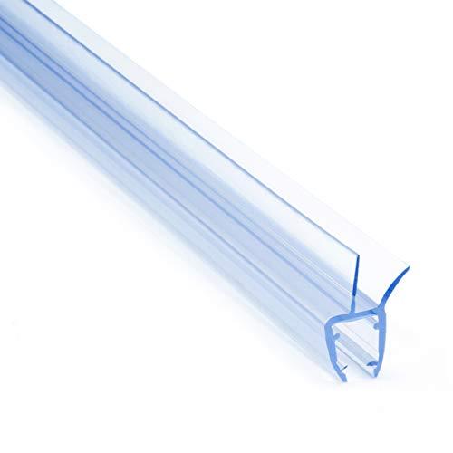 80cm UK03 - Ersatzdichtung für 5mm/6mm/ 8mm Glasdicke Wasserabweiser Duschdichtung Schwallschutz Duschkabine Duschprofil Duschtürdichtung