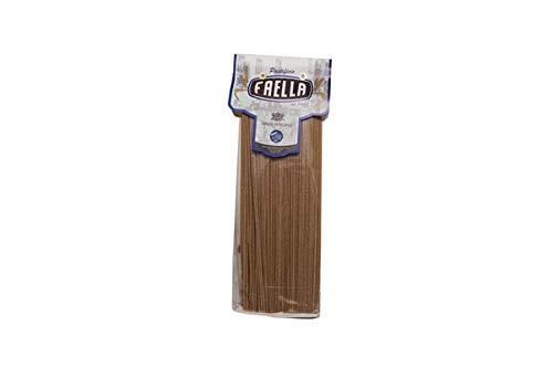 Spaghetti integrali. Pastificio Faella. 20 x 500 gr - 10 kg. Pasta di gragnano trafilata in bronzo e impasto lento.