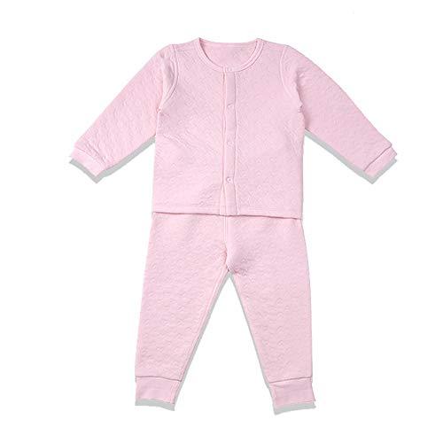 i-baby Conjunto de Traje de bebé de algodón Pima Premium Matelasse, empacado en Caja (24-36meses, Rosado)