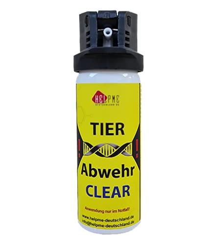 HelpMe Pfefferspray Clear zur Tierabwehr (50ml / ohne Geruchsstoff) –...