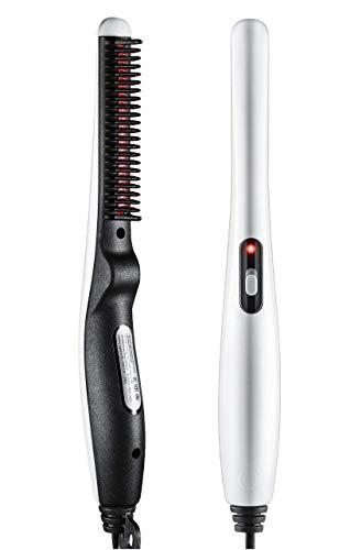 ADTALA Quick Hair Styler for Men Electric Beard Straightener Massage Hair Comb Beard Comb Multifunctional Curly Hair Straightening Comb Curler, Beard Straightener, Beard Straightener For Men