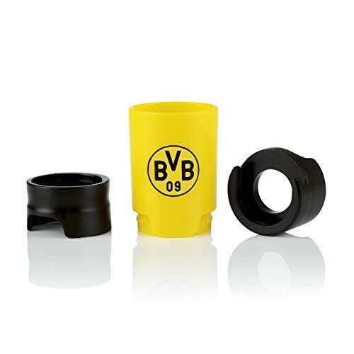 Taste Hero Flaschenaufsatz für Bier 1 Stück Fan-Edition BVB Borussia Dortmund | Macht jede Bierflasche zum Zapfhahn | Für Glas- und PET-Flaschen, spülmaschinengeeignet