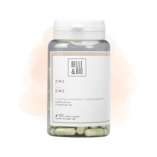 Belle&Bio Zinc 37,5 Mg/Gélule Capillaire Fabriqué en France