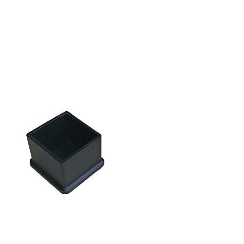 OHmais 4pcs Silikon stuhlbeine Fußkappen Schutzkappen Tassen Pads Möbel Tisch deckt Boden Protektoren Chair Leg Pads für 60 * 60mm