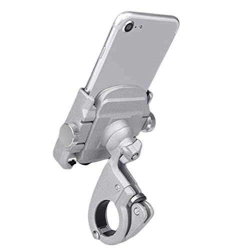 GUARDUU Fahrrad Handyhalterung 360 ° Drehung Einstellbarer Motorrad Telefonhalter Passend Für iPhone XS Max XR X 8 7 6 Plus, Samsung Galaxy S10 S10 S9 Hinweis 9 8, Nexus,A