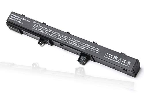 A31N1319 Laptop Battery Replacement for Asus X551 X551C X551CA X551M X551MA X551MAV-RCLN06 X551MA-RClN03 D550MA D550MA-DS01 0B110-00250600 0B110-00250800 0B110-00250100M-11.25V 2600MAH