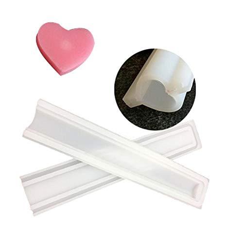 lennonsi Silikon Seifenform Schokoladen Kuchen Form und Süße Form DIY handgemachte Rohr Form Mold - zufällige Farbe Lieferung