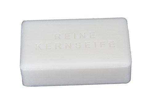 (100g=0,90€) Wasserrose® 5x100g=500g KERNSEIFE SEIFE REIN OHNE DUFT OHNE FARBSTOFFE OHNE PALMÖL Made IN Germany - EDTA-frei DIYt