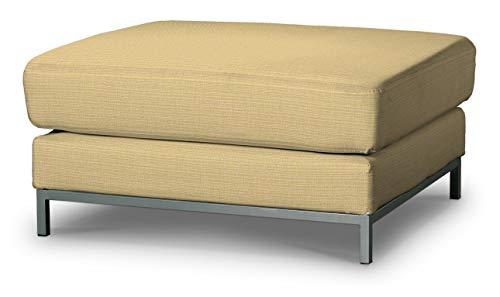 Dekoria Kramfors Hockerbezug Sofahusse passend für IKEA Modell Kramfors Sandfarben, beige