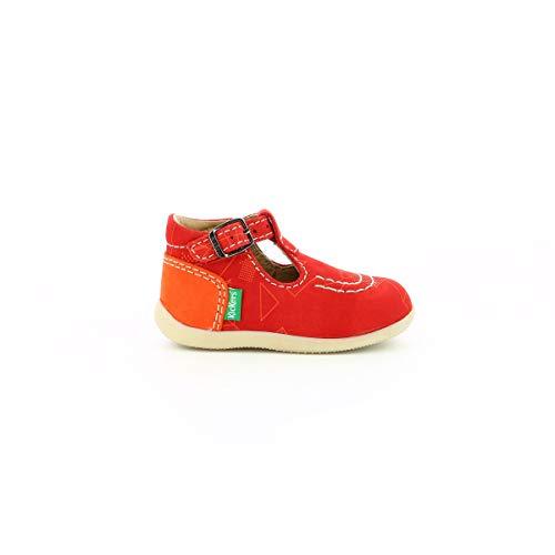 Kickers BONBEK-2, Zapatillas para Niños, Rouge Orange Galactic, 27 EU