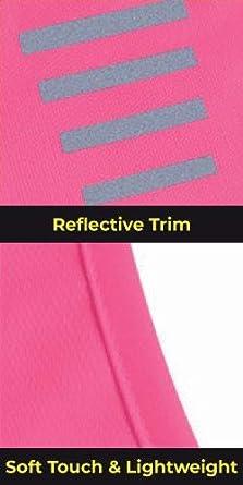 Proviz Classic Hi Viz Reflective Womens Running Singlet Vest Sleeveless Top Hi Visibility
