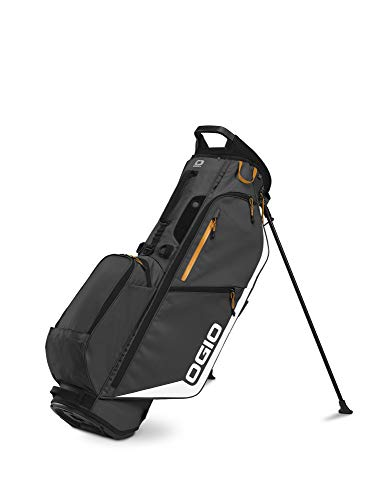 OGIO 2020 Fuse 4 Stand Bag (Dark Grey, Double Strap)