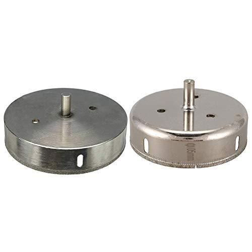 MLH-MLH 2Pcs Diamond Drill Reamer Trepan Broach for Ceramic Glass Sandstone Tile - Diameter 105Mm & Diameter 125Mm Drill