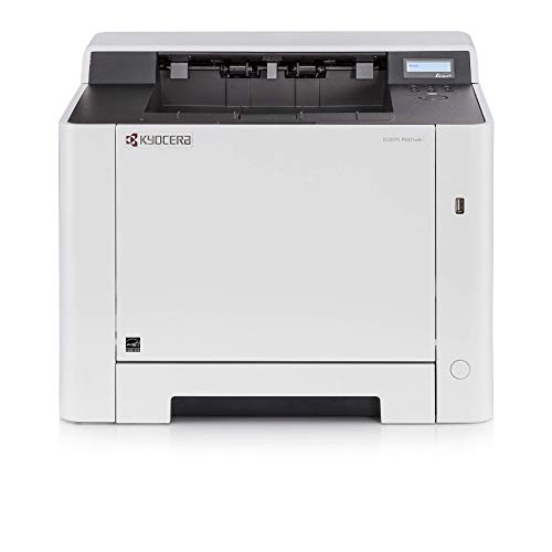 Kyocera Klimaschutz-System Ecosys P5021cdn/KL3 Laserdrucker. 3 Jahre Kyocera Life vor Ort Garantie. 21 Seiten/Minute mit Mobile-Print-Funktion, Amazon Dash Replenishment-Kompatibel, Farblaserdrucker
