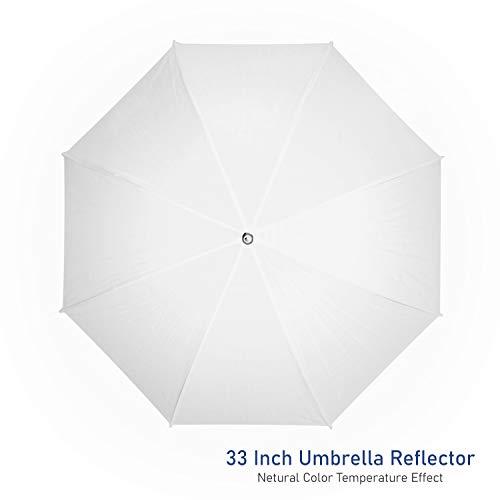 LimoStudio 2X 33 Studio Lighting Umbrellas Translucent White Soft Umbrella, AGG124-A
