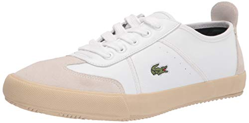 Lacoste Women's Contest 0120 4 CFA Sneaker, WHITE/OFF WHITE 9 M US