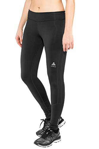 Odlo Damen BL Bottom Long irbis Warm Pantalon XL Noir