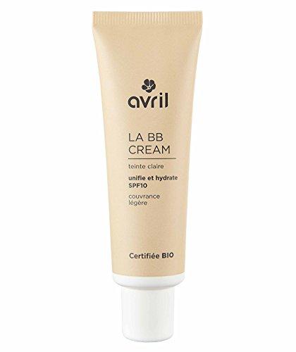 AVRIL - BB CREAM - CLAIRE - SPF 10 - Complexion Homogenisator, glatte Textur, langlebig - mit Moisturizer Aloe Vera Bio - 30 ml