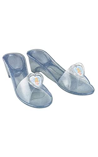 Disney - Zapatos diseño Cenicienta para niñas, talla única (I-35353)