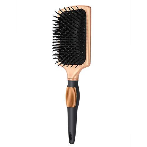 Jingyi Brosse à Cheveux Anti-Statique, Lisse, Doux et Anti-Statique, Peigne à Cheveux à air Plat Anti-Statique Massage Brosse à Cheveux Soins de santé Brosse à Palette Outil de Coiffure
