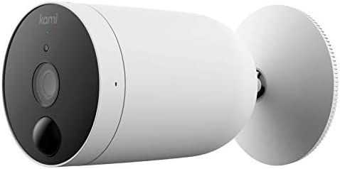 Outdoor Security Camera Wireless Kami by Yi Rechargeable Battery Powered 1080p Outside Surveillance product image