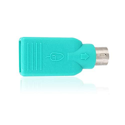 Mavis Laven Convertidor de PS2 a Hembra USB, Hembra de USB a...
