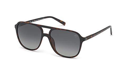 TIMBERLAND EYEWEAR Herren Tb9190 Sonnenbrille, Braun, 58