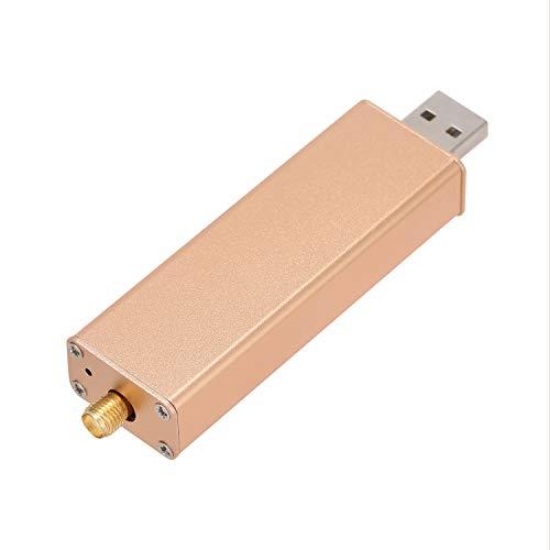 KKmoon RTL2832U + R820T2 0,1 MHz-1,7 GHz TCXO ADSB UHF VHF HF FM RTL.SDR USB-tuner ontvanger werkt met PC ohne Antenne goud