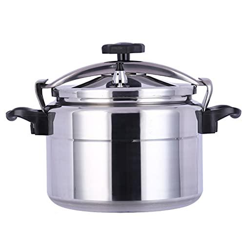 Cocina De Presión De Gas,75L Comercial Olla a Presión Gran Capacidad Ahorrar Energía Muy Resistente Súper Rápida Para Comedor Escolar,Silver-75L