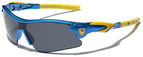 Kids Teen Age 8-16 Performance Sport Wrap Around Sunglasses Cycling Baseball Bike Sun Glasses