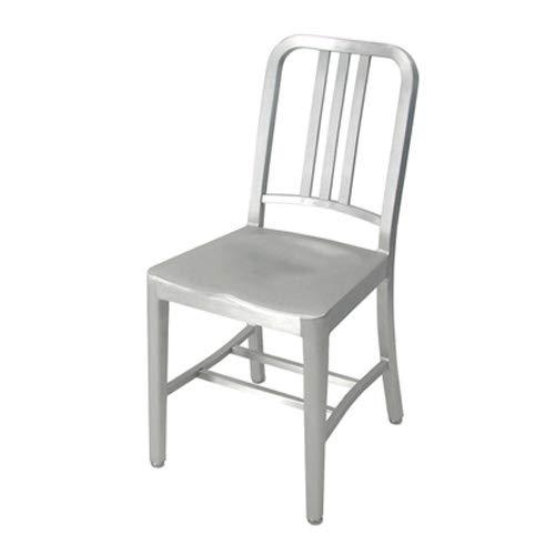 emeco エメコ 正規品取扱店 Navy Chair ネイビーチェア アルミニウム アームレスチェア 椅子 いす 仕上げ:ブラッシュ仕上げ(光沢なし)USA製 1006 アメリカ合衆国 海軍 潜水艦 コカコーラ チェア 軽家具 インテリア コントラクト